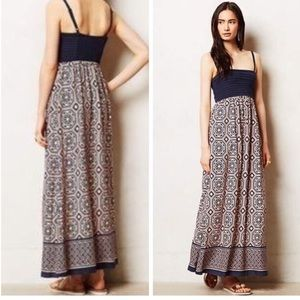 Anthropologie Lilka Carreau Maxi Dress (XS)